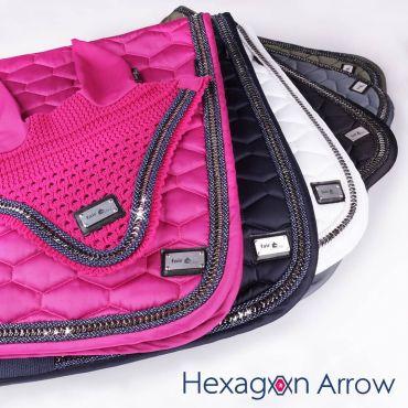 FairPlay Sattelunterlage Hexagon Arrow